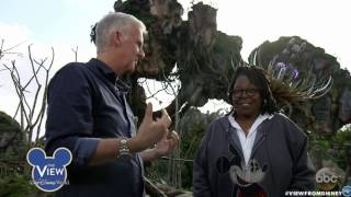 Download Pandora: The World of AVATAR Tour with James Cameron, Navi River Journey Boat Ride Footage Video