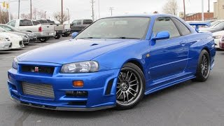 Download 1999 Nissan Skyline GT-R (R34) Start Up, Test Drive, and In Depth Review Video
