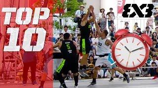 Download Top 10 TISSOT Buzzer Beaters of 2018 - FIBA 3x3 Video