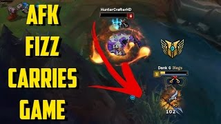 Download AFK FIZZ CARRIES GAME! [ League of legends ] Video