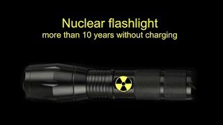 Download Free energy. DIY Nuclear tritium LED flashlight Video