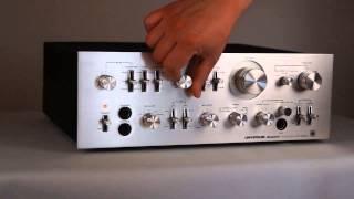 Download Universum 2500 HiFi AMP Verstarker Phono ALU Metal Video