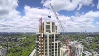 Download Timelapse of The Heathview's North Tower Crane Removal Video