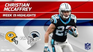 Download Christian McCaffrey Highlights   Packers vs. Panthers   Wk 15 Player Highlights Video