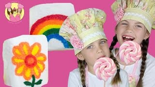 Download MARSHMALLOW PARTY TREATS - 2 easy peasy party ideas by Charli's Crafty Kitchen kids how to baking Video