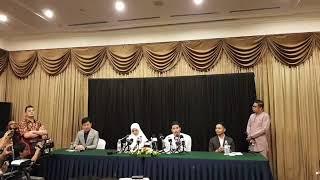 Download Sidang akhbar khas pelakon Fattah Amin dan Nur Fazura Video