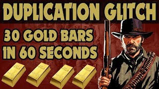 Download Red Dead Redemption 2 : 30 Gold Bars In Sixty Seconds / New Gold Duplication Glitch Video