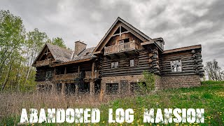 Download Abandoned Log Mansion In the Woods (Forgotten Homes Ontario Ep.20) Video