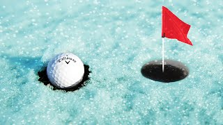 Download EXTREME GOLF ON ICE! (Golf Minigame) Video