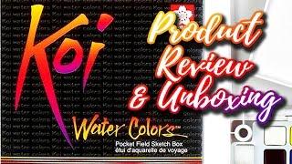 Download Sakura Koi Watercolor : Review and Unboxing Video