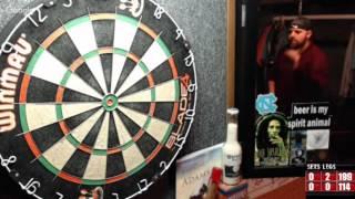 Download Rattlesnake vs Sebas -WDA Darts Video