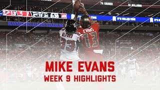 Download Mike Evans 11 Catches 150 yards & 2 TDs | Falcons vs. Buccaneers | NFL Week 9 Player Highlights Video