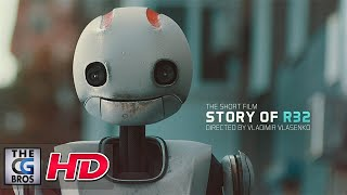 Download CGI VFX Shorts : ″Story of R32″ - by A robot on a spotless journey encounters a new friend. Video