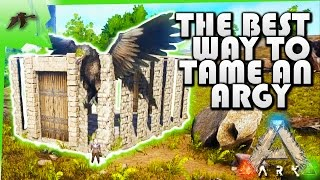 Download How To Tame an Argentavis Solo(Easy!)Build an advanced Dino Taming Pen-Ark Survival Evolved Xbox One Video
