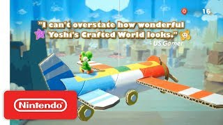 Download Yoshi's Crafted World - Accolades Trailer - Nintendo Switch Video