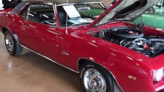 Download Rare Double COPO 1969 Camaro 427 V8 425 HP Muscle Car from Berger Chevrolet Video