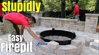 Download Super Easy Fire Pit build - DIY How to build a patio firepit - Little Known Tips, design & ideas Video