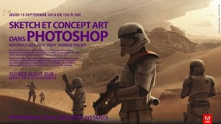 Download Masterclass Photoshop avec Gary Jamroz-Palma : Concept Art | Adobe France Video