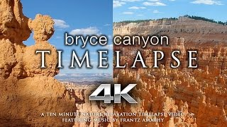 Download Bryce Canyon 4K 60fps TIMELAPSE | Nature Relaxation™ Music Video + Indian Flute Sounds Video