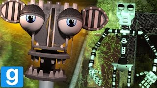 Download CHASED BY THE FNAF ENDOSKELETON ANIMATRONIC || GMOD FNAF (Five Nights at Freddys Garrys Mod) Video