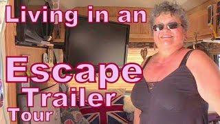 Download Tour of an Escape Fiberglass Trailer Video