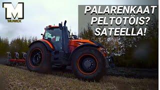 Download TESTISSÄ - Valtra T174D Unlimited - Tekeekö palarenkailla pellolla mitää Video