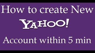 Download How To Create Yahoo Email Account Within 5 Min 2017 Video