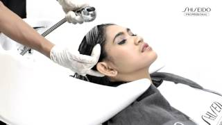Download Step by Step Straightening - Crystallizing Straight Shiseido Professional Video