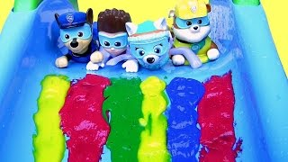 Download Paw Patrol Bathtime Paint Slide Underwater Pool Party Video