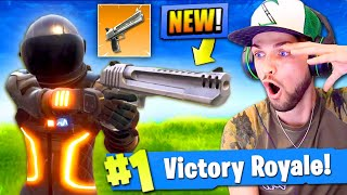 Download *NEW* HAND CANNON GAMEPLAY in Fortnite: Battle Royale! (SEASON 3) Video