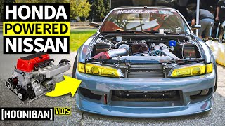 Download A Honda K24 Powered 240sx... Built to Grip!! Touge Factory's JDM Frankenstein Madness Video