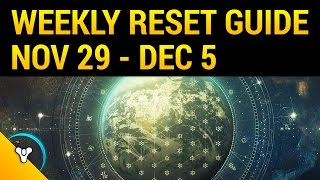 Download Destiny Rise of Iron: November's Final Reset Guide Video