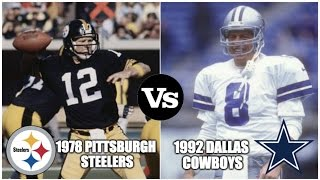 Download 10 Super Bowl Matchups We'd Like To Create With A Time Machine Video