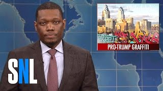 Download Weekend Update on Pro-Trump Graffiti Artist's Arrest - SNL Video