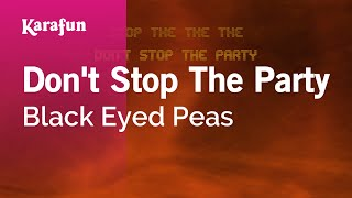 Download Karaoke Don't Stop The Party - Black Eyed Peas * Video