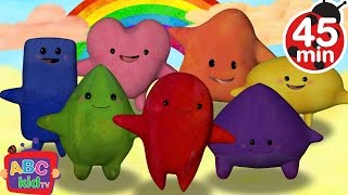 Download Color Songs Collection | Red, Orange, Yellow, Green, Blue, Purple, Pink - CoCoMelon Video
