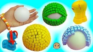 Download 3D Mosaic Foam Animal Maker & Playdoh Growing Animals - Dollar Tree Store Crafts Video