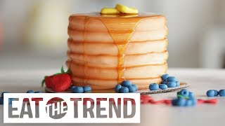 Download How to Make a Pancake Cake   Eat the Trend Video