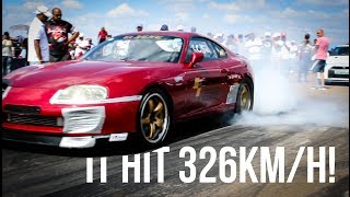 Download ICE Motorsport 1200HP Supra takes on SA's fastest S1000 RR! Video
