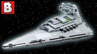 Download Lego Star Wars Imperial Star Destroyer Set 75055   Unbox Build Time Lapse Review + UCS Comparison Video