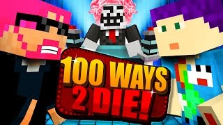 Download Minecraft: 100 WAYS TO DIE CHALLENGE - HE CHOSE HIMSELF?! Video
