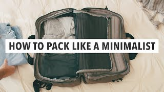 Download How to Pack like a Minimalist Video