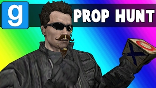Download Gmod Prop Hunt Funny Moments - Terroriser Spots in a Broken Map (Garry's Mod) Video
