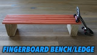 Download HOW TO MAKE A FINGERBOARD BENCH/LEDGE/BOX (Tutorial) Video