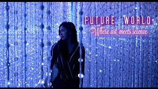 Download Future World Where Art Meets Science Marina Bay Sands Singapore Video