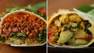 Download How To Make Meatless Burritos With Tofu And Cauliflower • Tasty Video