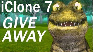 Download iClone 7 GIVE AWAY Video
