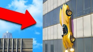 Download THIS $5,000,000 CAR CAN DRIVE UP BUILDINGS! | GTA 5 THUG LIFE #184 Video