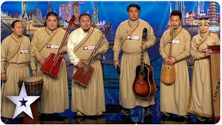 Download Khusugtun Takes Listeners To Mongolia | Asia's Got Talent 2015 Ep 2 Video