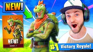 Download *NEW* LEGENDARY T-REX GAMEPLAY in Fortnite: Battle Royale! Video